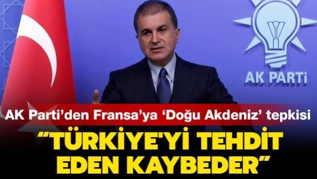 AK Parti Sözcüsü Ömer Çelik: Türkiye'yi tehdit eden kaybeder