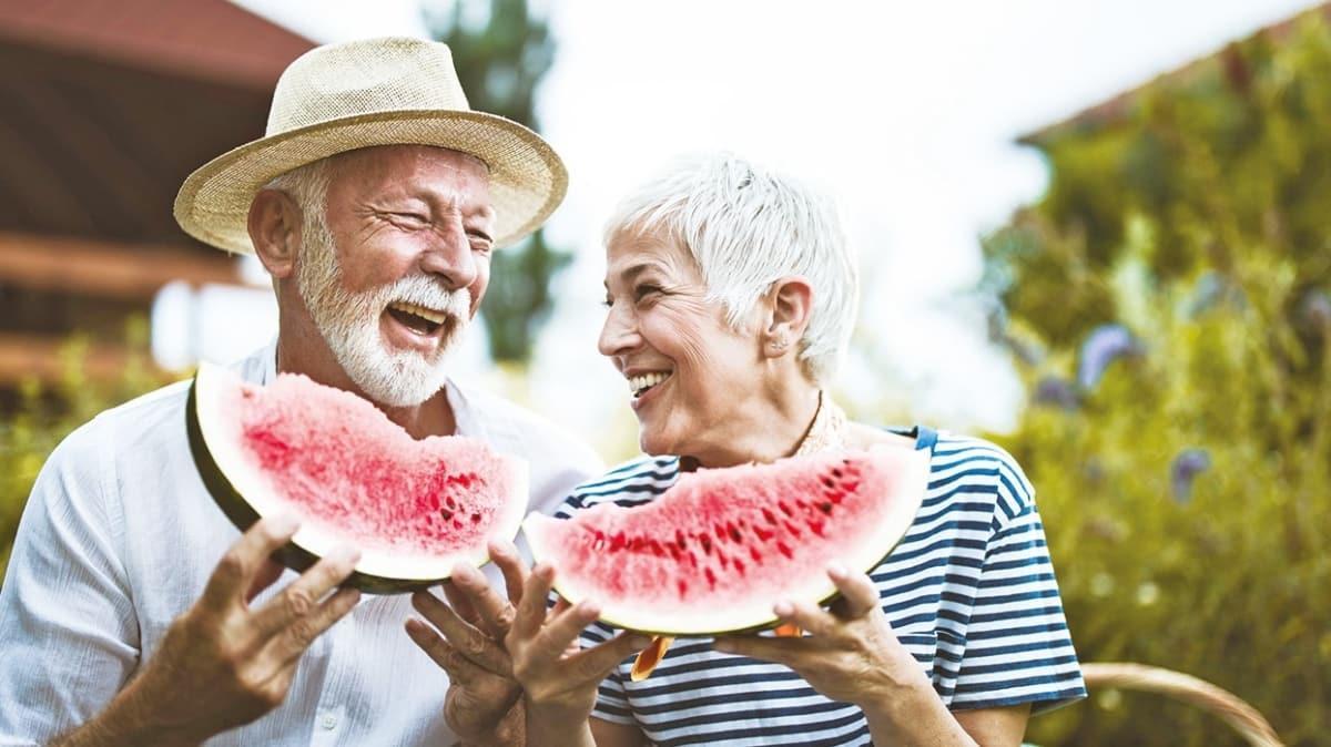 Kalp ve hafızanın ilacı karpuz... Çekirdeği de faydalı
