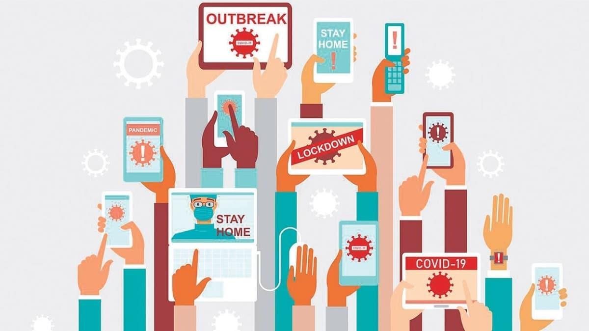 Sosyal medya paylaşımlarından pandeminin etkileri analizi