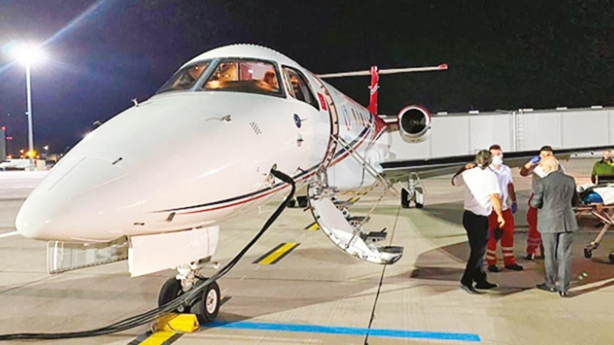 Ambulans uçakla Viyana'ya 'kanserli Türk' seferi