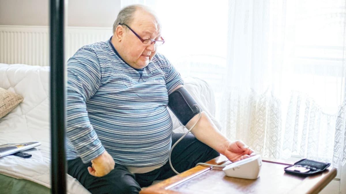 Fazla kilo tansiyon hastası yapıyor