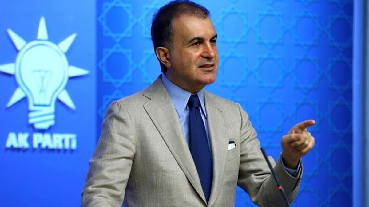 AK Parti Sözcüsü Çelik: Biden'in sözleri darbeciliğini ele veriyor