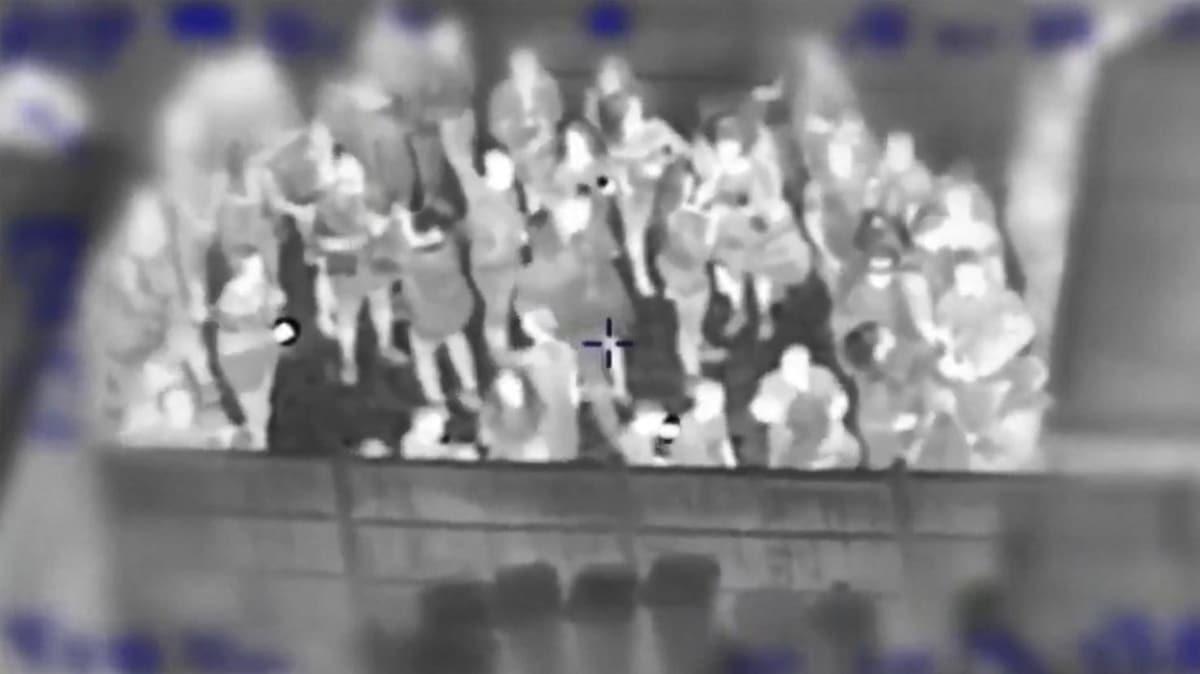 İngiltere'de koronavirüs partisi termal kamerayla görüntülendi
