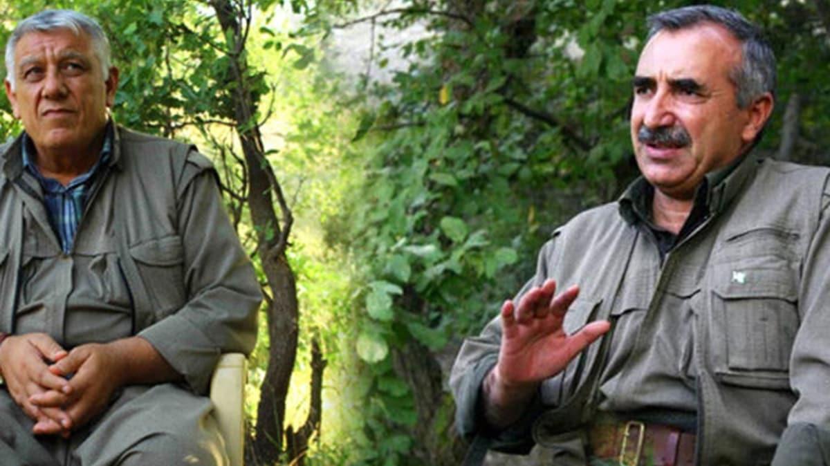 Terör örgütü PKK/PYD'nin elebaşları Murat Karayılan ve Cemil Bayık kaçacak delik arıyor!