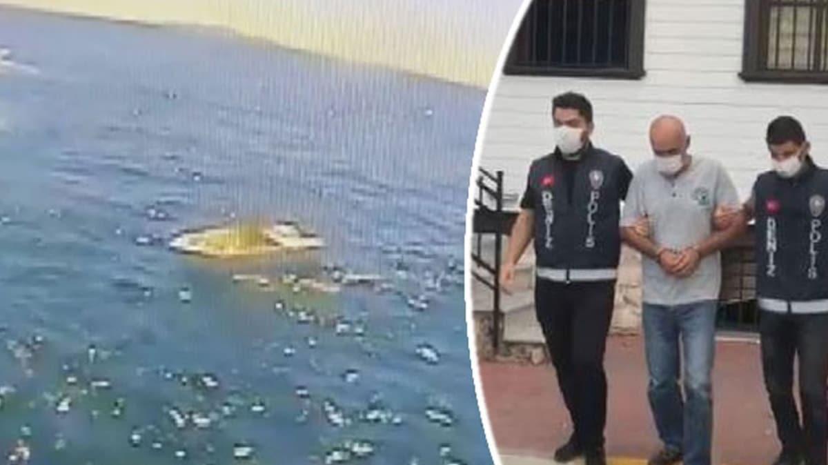 4 gün denizde mahsur kalan kişinin tekneyi çaldığı ortaya çıktı
