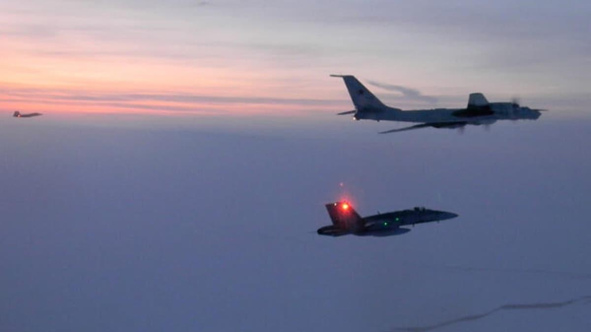 Rus jetlerinin Güney Kore hava sahasını ihlal ettiği iddiası