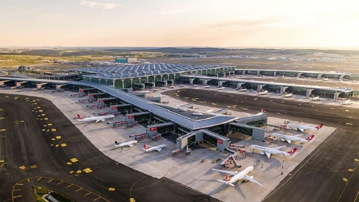 İstanbul havalimanlarını kullanan yolcu sayısı 23 milyonu geçti