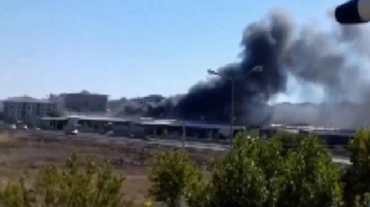 Diyarbakır'da sebze ve meyve halinde çıkan yangın söndürüldü