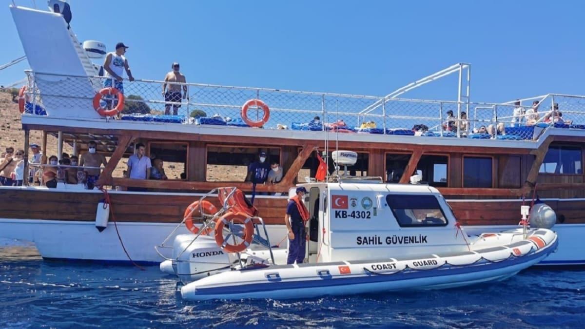 Ulaştırma ve Altyapı Bakanlığından tur teknelerine sıkı denetim