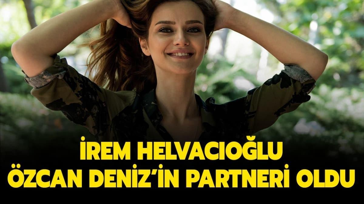 """Özcan Deniz'in partneri İrem Helvacıoğlu kimdir"""" İrem Helvacıoğlu kaç yaşında"""""""