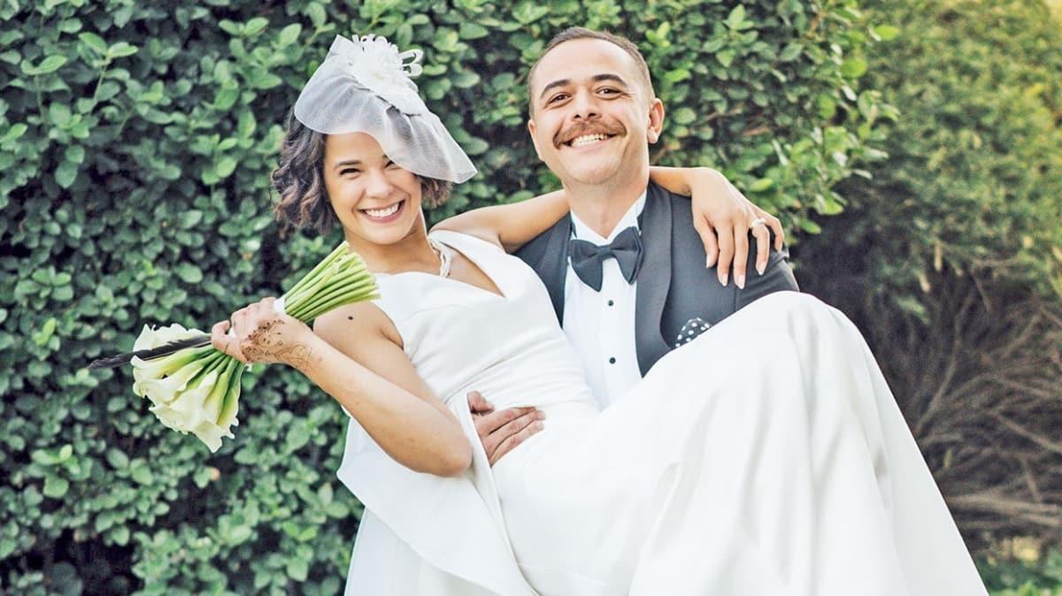 Selen Seyven ve Baran Yıldırım çifti 5 ayda evlendiler