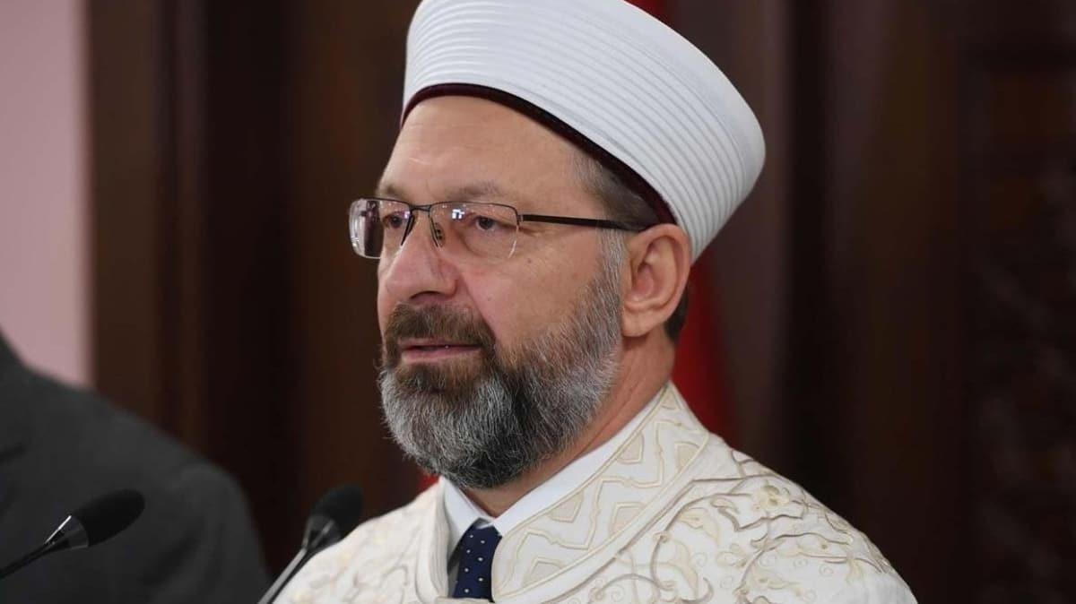 Diyanet İşleri Başkanı Erbaş'tan koronavirüs açıklaması: Tedbirlere uymamak Allah katında kul hakkıdır