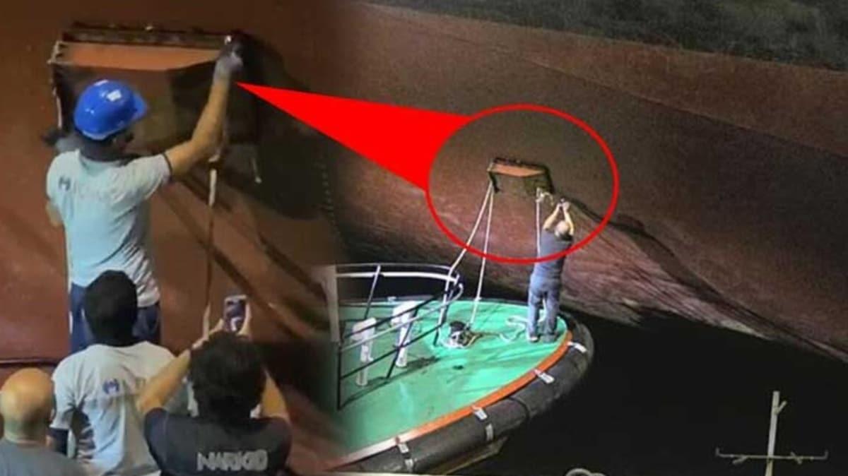 Çanakkale'de gemiye operasyon: 50 milyon değerinde uyuşturucu ele geçirildi