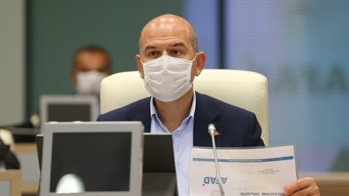 Bakan Soylu'dan 'Fay Yasası' açıklaması