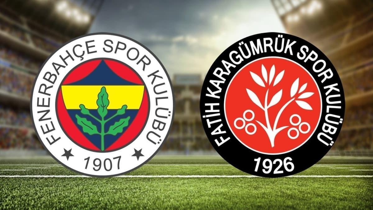 """Fenerbahçe Fatih Karagümrük maçı hangi kanalda, saat kaçta"""" Fenerbahçe Fatih Karagümrük maçı canlı nasıl izlenir"""""""