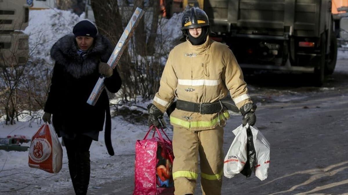 Rusya'da doğal gaz patlaması: 3 ölü, 4 yaralı