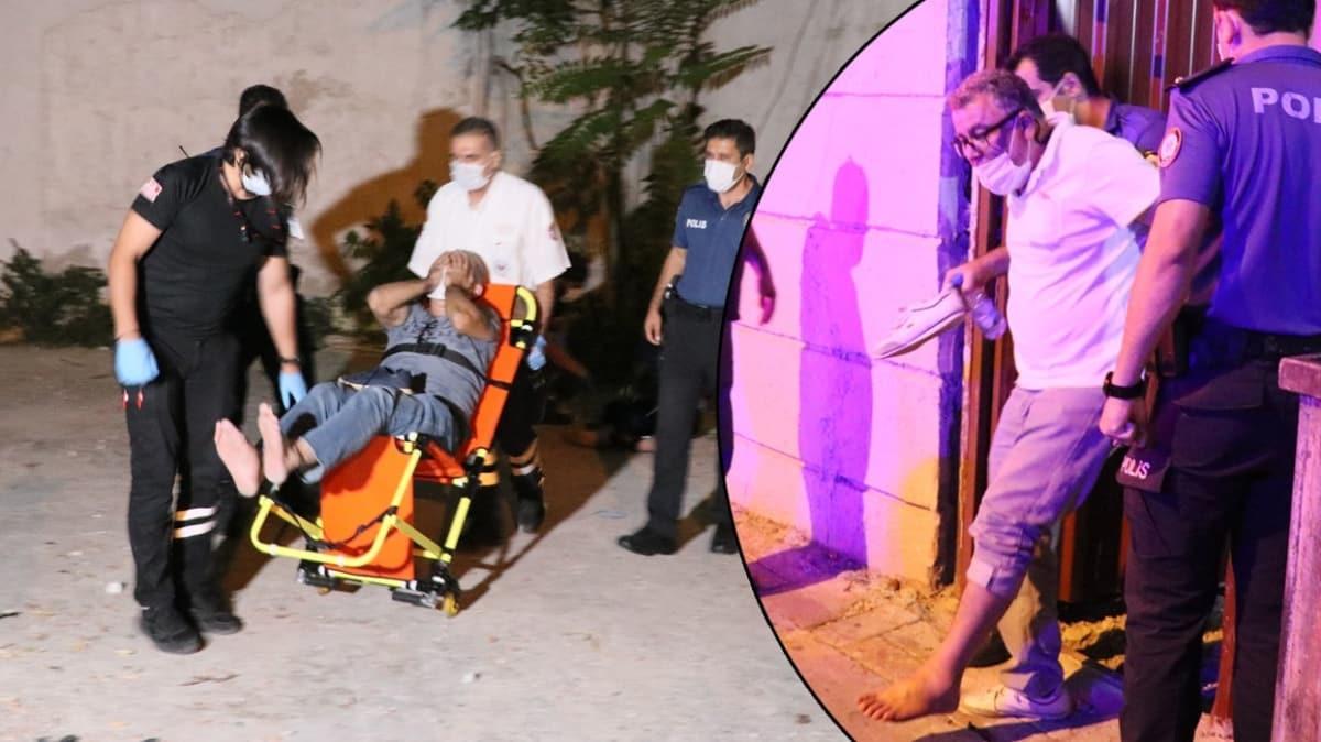 İzmir'de kumar baskınından kaçmak için yüksekten atlayan 3 kişi yaralandı