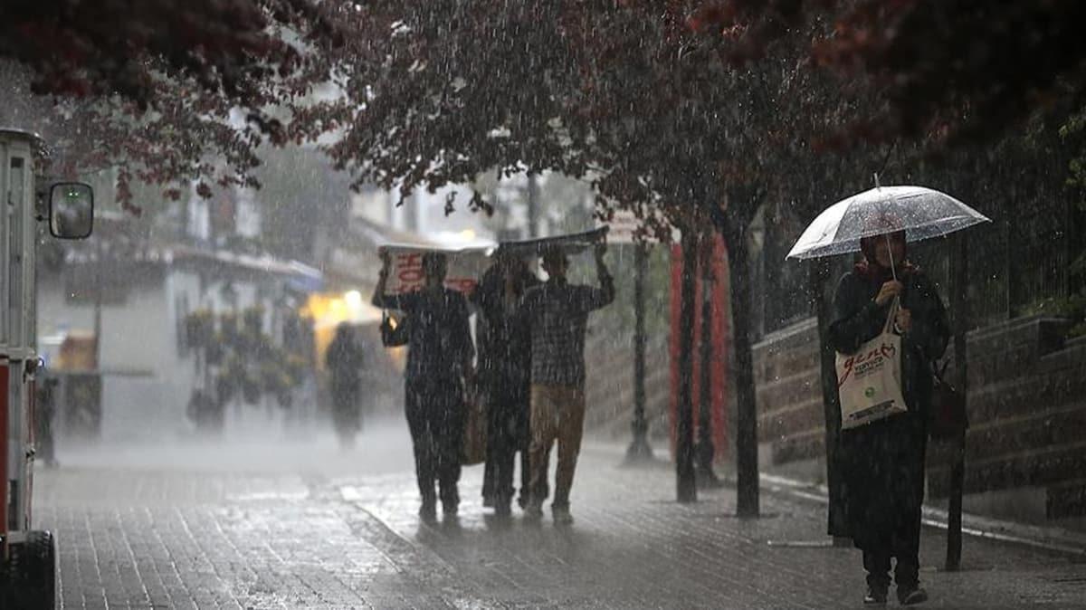 Meteorolojiden Trabzon için kuvvetli sağanak uyarısı
