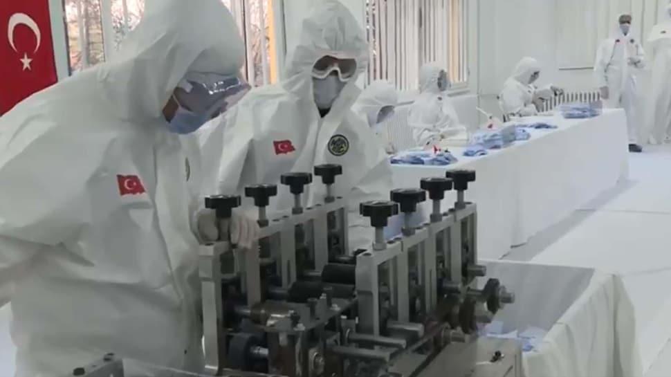 Milli Savunma Bakanlığı 80 milyonu aşkın maske üretti