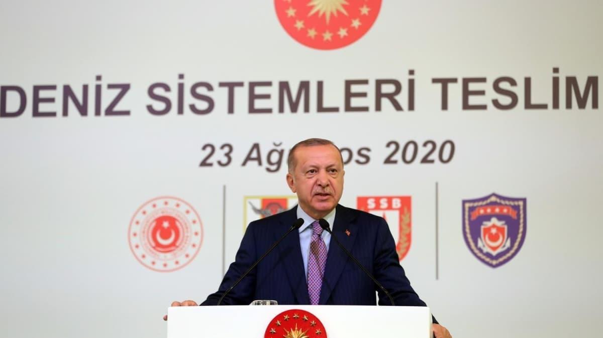 Başkan Erdoğan'dan sektör öncülerine çağrı: Gelin uçak gemisi de yapalım