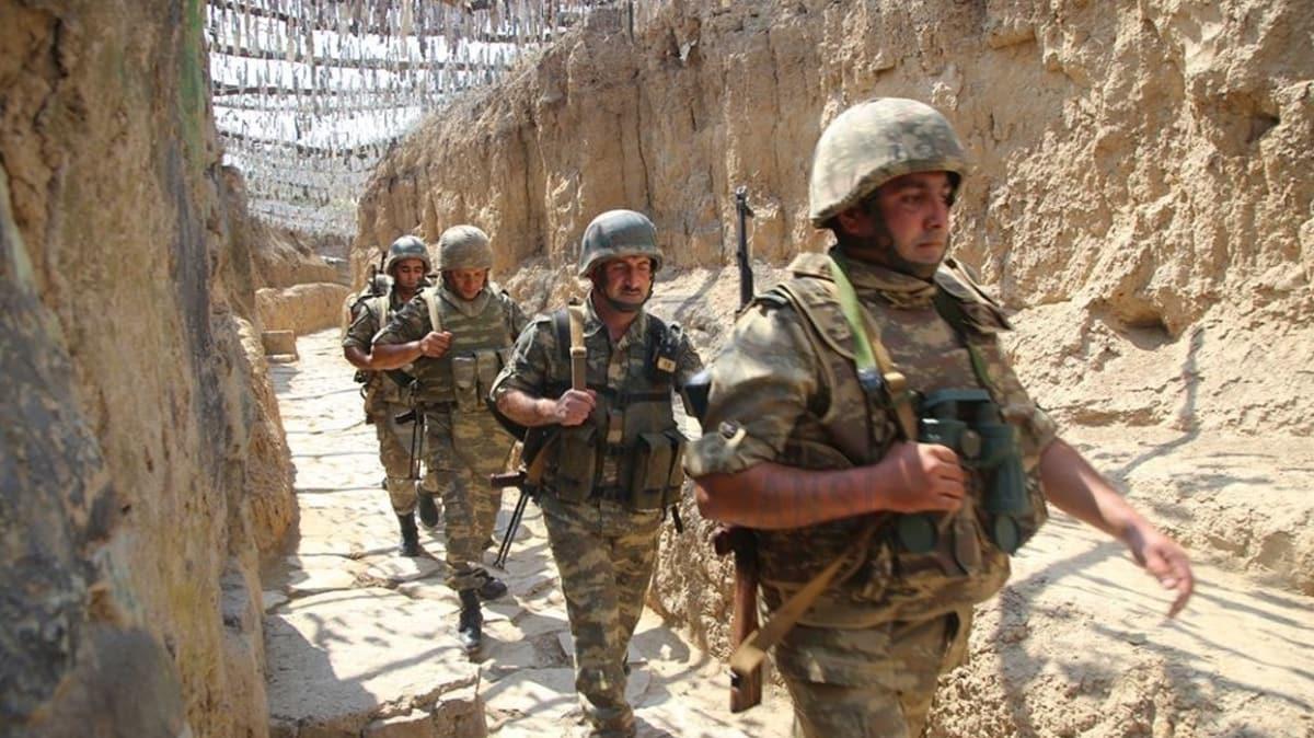 Azerbaycan ordusu sabotaj girişimini önledi... Ermeni komutan esir alındı!