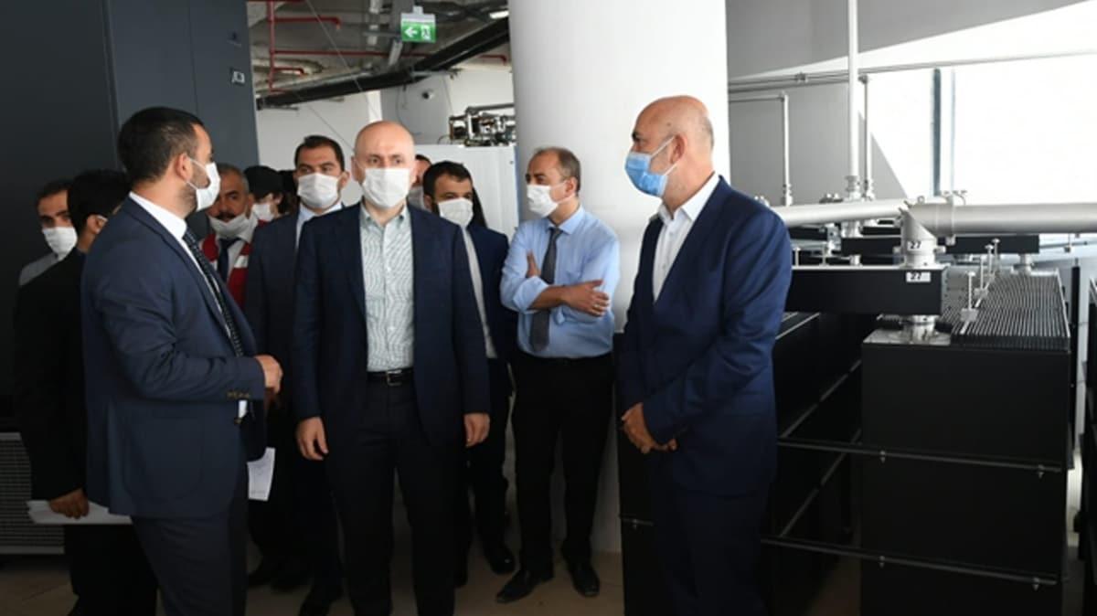 Bakan Karaismailoğlu tarih verdi: Küçük Çamlıca TV Radyo Kulesi eylülde açılacak