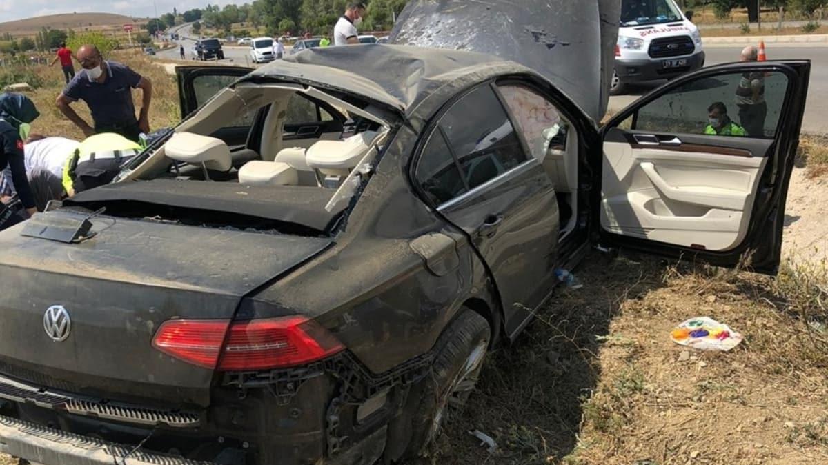 Bakan Kurum'un korumaları Çorum'da kaza yaptı: 4 yaralı var