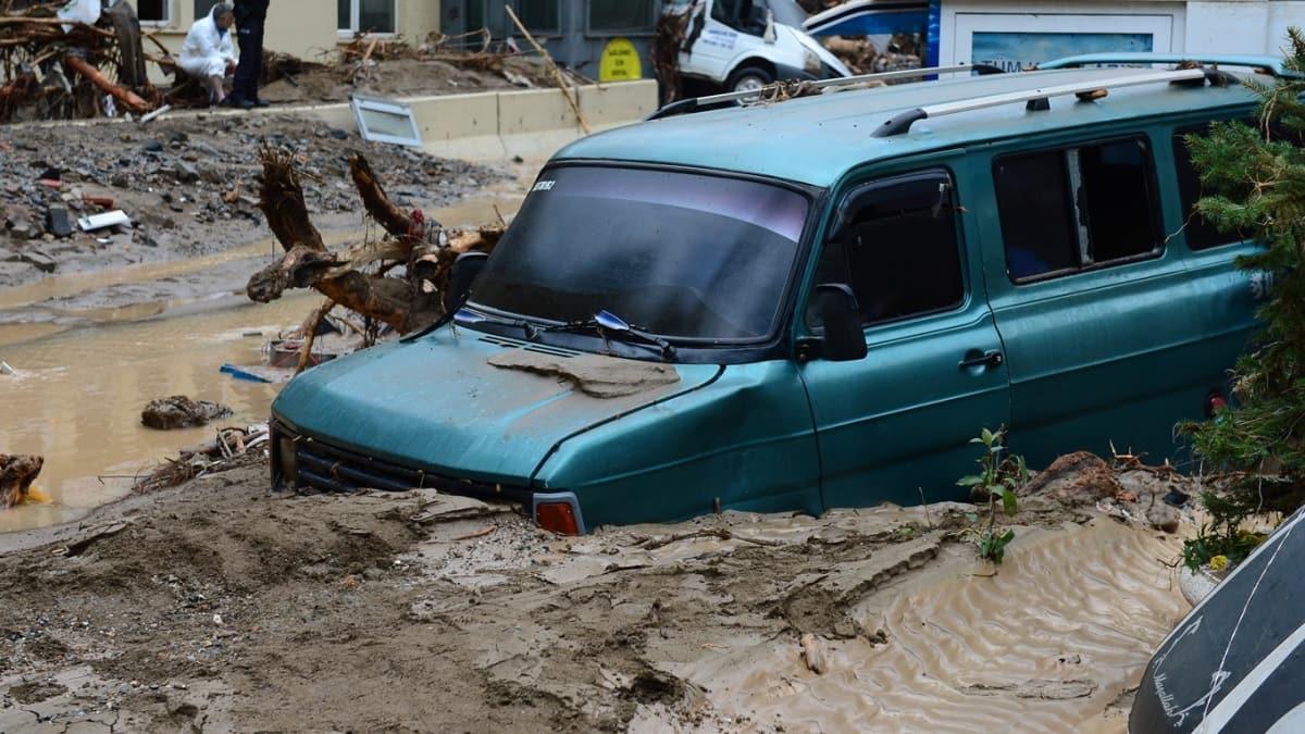 Giresun'daki selde 5 kişi hayatını kaybetti