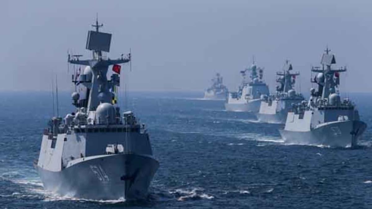 Çin'den Güney Çin Denizi'nde yeni askeri tatbikat