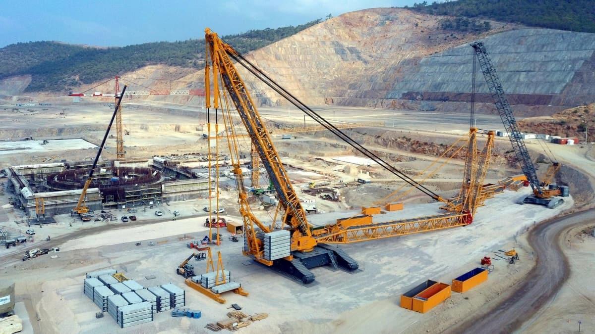 Akkuyu Nükleer Güç Santrali'n buhar jeneratörleri Türkiye'ye doğru yola çıktı