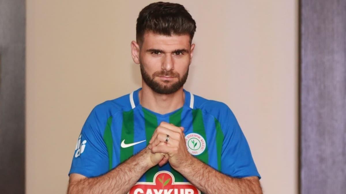 Çaykur Rizespor, Nadir Çiftçi ile 2 yıllık sözleşme imzaladı