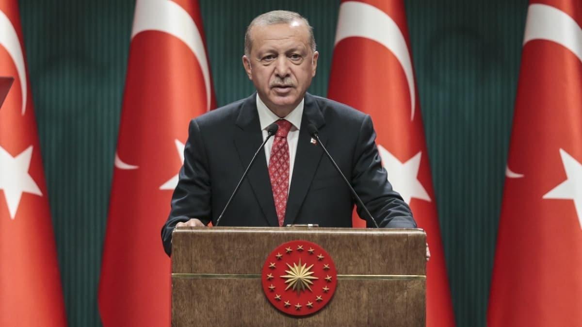 Başkan Erdoğan'dan Doğu Akdeniz mesajı: Oruç Reis gemisi ve donanmamız en küçük bir geri adım atmayacaktır