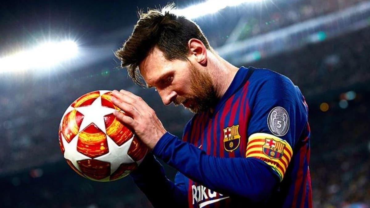 Lionel Messi, Barcelona'dan ayrılıyor