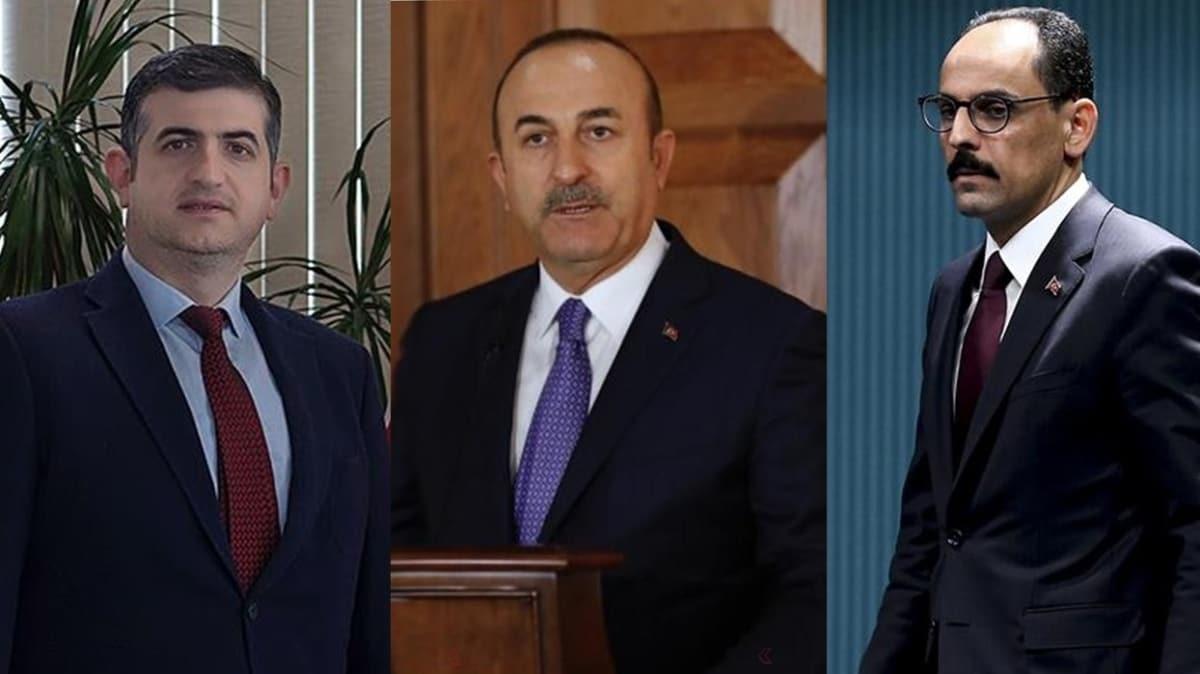 Ukrayna'dan Bakan Çavuşoğlu, Cumhurbaşkanlığı Sözcüsü Kalın ve Baykar Genel Müdürü Bayraktar'a devlet nişanı