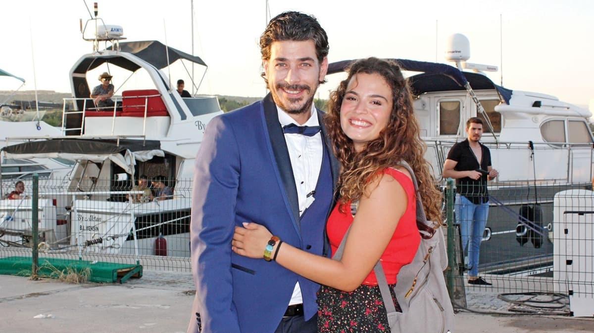 Aslı Bekiroğlu ve Alper Saldıran'ın başrollerini paylaştığı Bahar'da Aşk filminin çekimleri 40 derecede devam ediyor