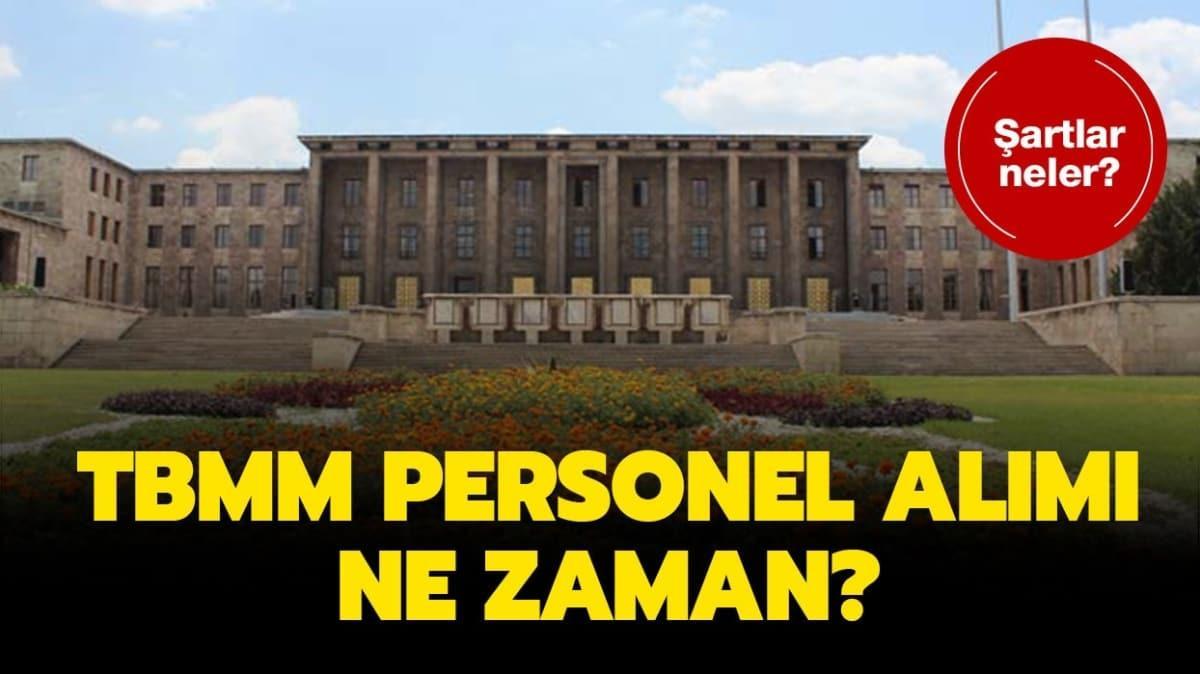 """Meclis personel alımı sınavı ne zaman"""""""