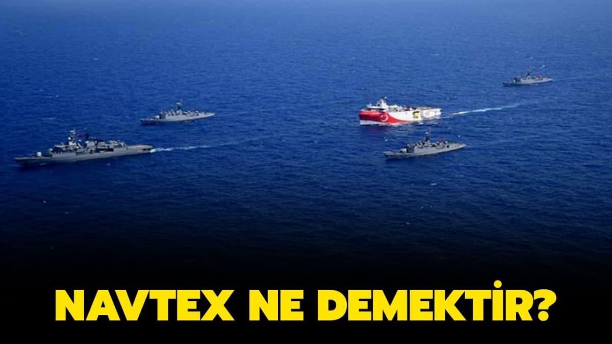 """NAVTEX ilanı ne anlama geliyor"""" NAVTEX ne demektir"""""""