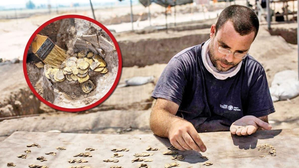 İsrail'de kentsel dönüşümden bin yıllık hazine çıktı