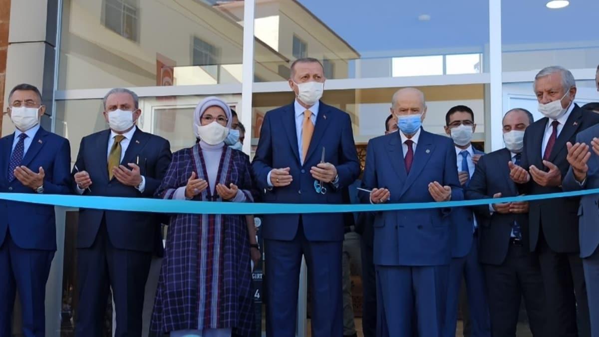 Başkan Erdoğan Ahlat'ta