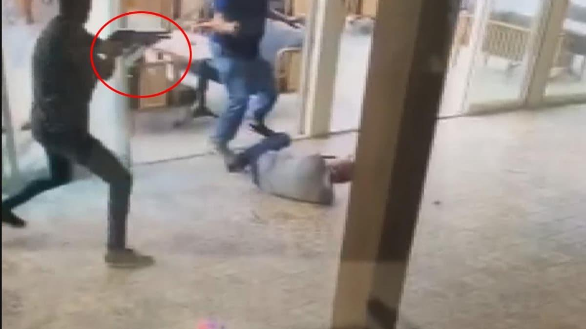 Tuzla'da korku dolu anlar kamerada: Dakikalarca çatıştılar