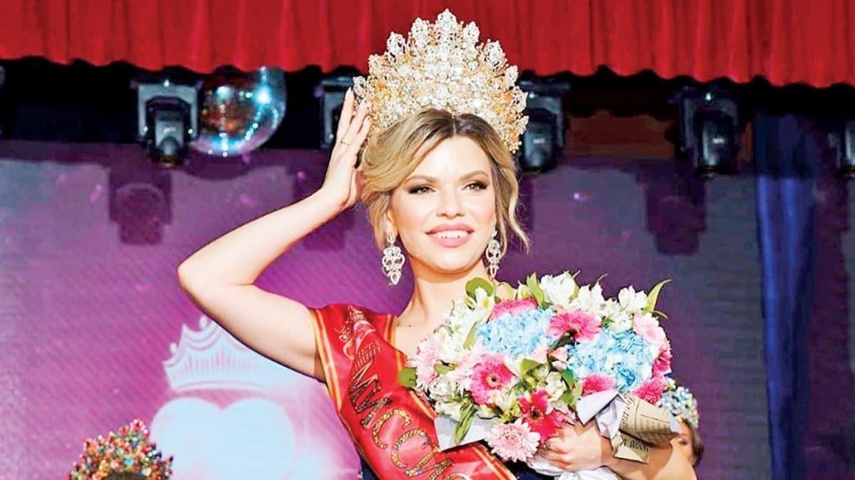 Rusya'nın en güzeli 3 çocuklu Darya Ivanova