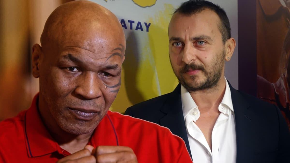 Ali Atay'ın başrol oynadığı Osman Sekiz filmi Mike Tyson ile görüşüyor