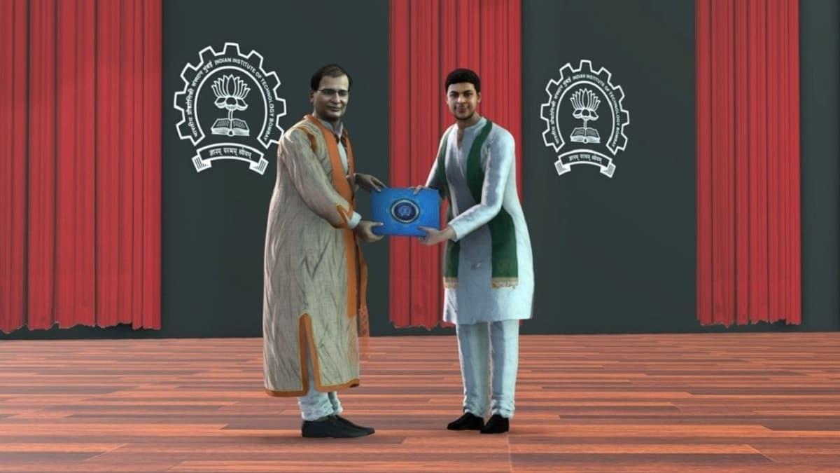 Hindistan'da sanal gerçeklik ile mezuniyet töreni: Diplomalar avatarlara verildi