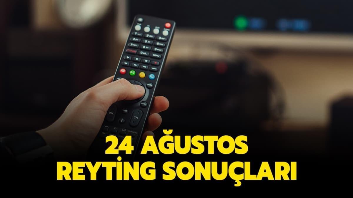 25 Ağustos 2020 reyting listesi yayında!