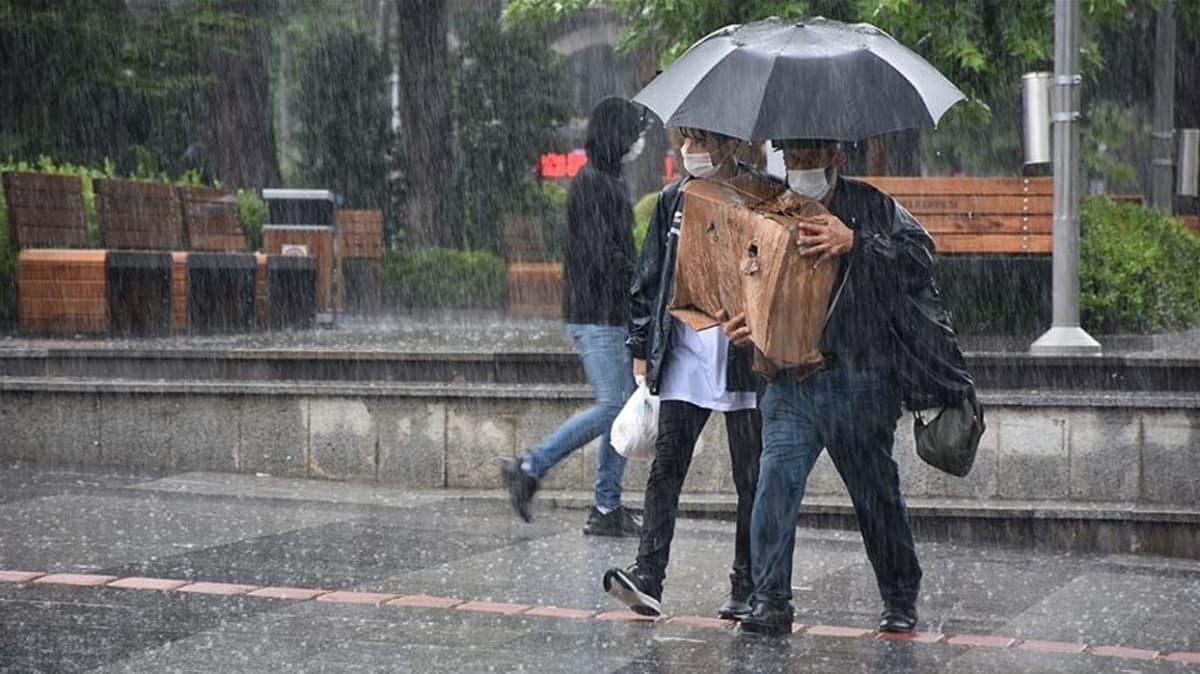 Meteorolojiden Ege ve Akdeniz için uyarı: Bu akşam sağanak yağış geliyor