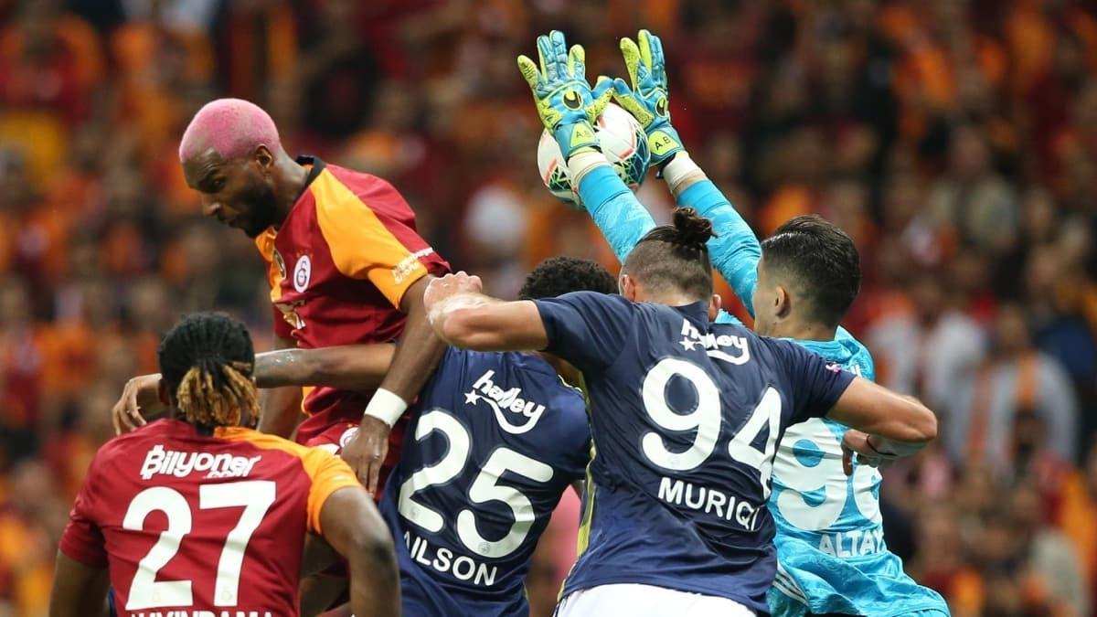 3. hafta oynanacak olan Galatasaray-Fenerbahçe derbisinde ilginç detay