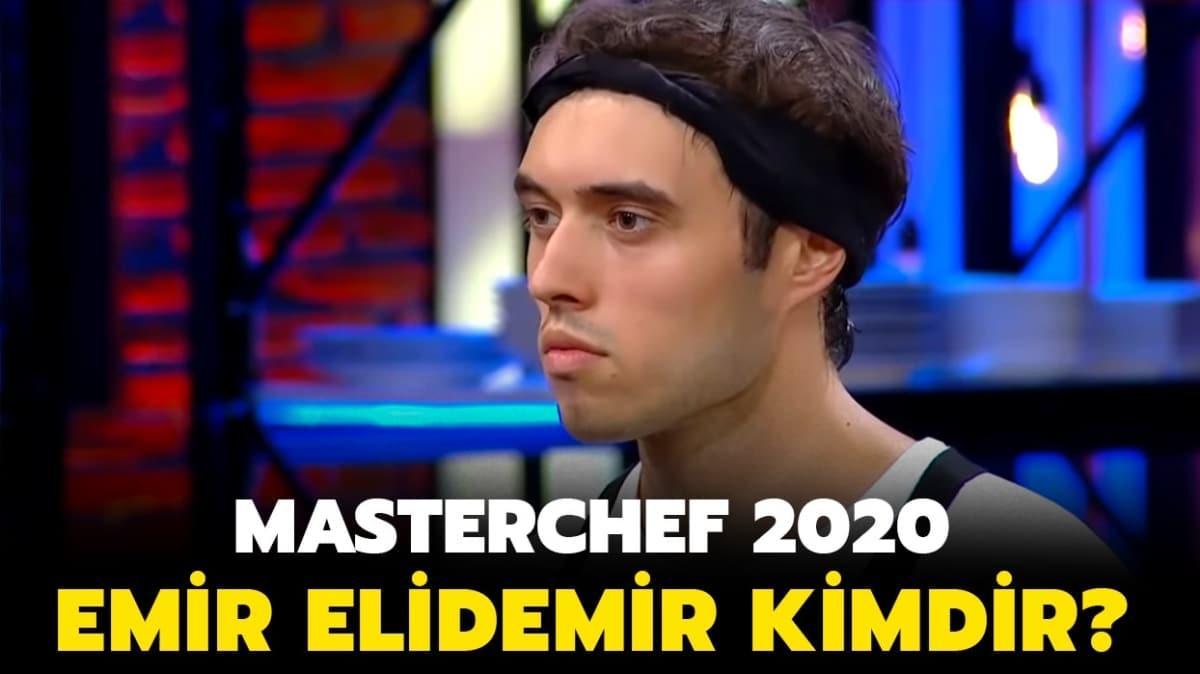"""MasterChef Emir kimdir"""" MasterChef 2020 yarışmacısı Emir Elidemir nereli ve kaç yaşında"""""""