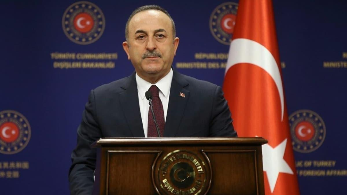 Bakan Çavuşoğlu: Moldova'ya desteğimizi sürdüreceğiz