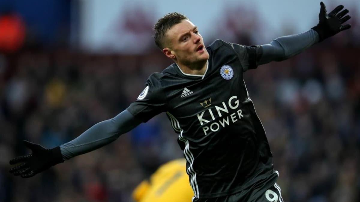 Leicester City, Jamie Vardy ile yeni sözleşme imzaladı