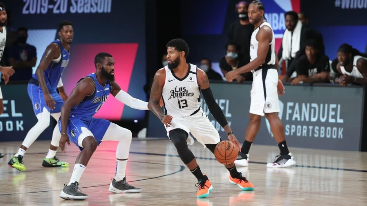 Los Angeles Clippers, Dallas Mavericks'i Paul George ve Kawhi Leonard'la devirdi